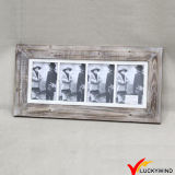 Vintage Grey Multi Opening Shabby Chic Wall Photo Frames