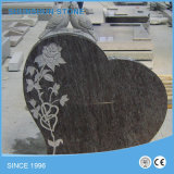 중국 까만 화강암 미국식 기념하는 묘비 기념물