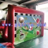 フットボールの膨脹可能な石鹸のサッカー競技場か膨脹可能なFoosballのフットボール競技場