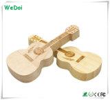 Nueva guitarra USB Stick de madera como regalo promocional (WY-W48)