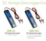 Pantalla LCD del voltaje de CC Data Logger voltímetro digital USB