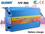 Suoer cargador de 12V 30A portátil Cargador de batería de cuatro fases de carga Modo cargador solar con CE y RoHS (MA-1230A)