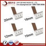 1220*2440mm contreplaqué HDF Panneaux de fibres à densité moyenne de meubles MDF