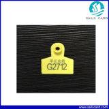 De Markering van het Oor van de Druk RFID van het embleem voor Dierlijk Beheer