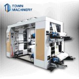 Prezzo non tessuto della macchina da stampa di Flexo del tessuto di colore Tw-1200 4