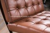 Cadeira de Barcelona do escritório da mobília do couro artificial do desenhador
