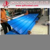 0.5mm Ral Farbe beschichtetes galvanisiertes Stahldach-Blatt