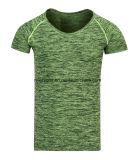 Maglietta rotonda casuale del collo degli uomini