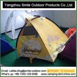 Logotipo da Tenda de fibra de toda a tenda de pesca de praia à prova de impressão