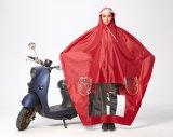 電気バイクのための通気性のレインコートに塗るオックスフォード男女兼用のPVC
