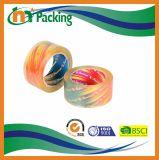 Logotipo de marca personalizada de alta calidad Crystal Clear impresa cinta de embalaje