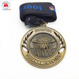 3D鋳造のバスケットボールのトーナメントメダル賞