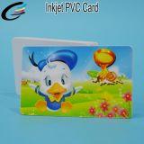 Carte d'identité blanche en PVC PVC Cartes à imprimé à jet d'encre imprimé en plastique Vendeur
