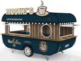De nieuwe Ontworpen Bestelwagen/de Aanhangwagen van het Voedsel in 2017 voor Verkoop