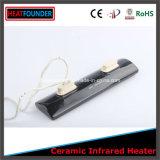220V / 230V 1000W de alta temperatura de cerámica Negro infrarrojos calentadores de panel
