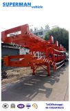2 Aanhangwagen van de Vrachtwagen van de Container van de Haven van de as de Skeletachtige Semi voor EindGebruik