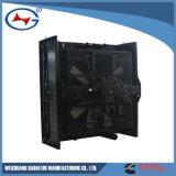 구리 방열기를 만드는 Qsk60-G3-P-4 물 냉각 방열기 중국