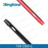Verkoop 108 cbd-L Cbd Vaproizer van de Fabriek van China van de Sigaret van Kingtons E met de Waarborg van de Kwaliteit
