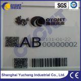 Печатание принтера inkjet Cycjet Handset Alt360 промышленное UV на стекле