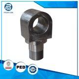 CNC, der Hydrozylinder-Teilstangenende-Ebenen-Augen maschinell bearbeitet