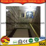 Feuille UV de PVC de marbre de Gloosy de prix bas élevé de qualité pour la décoration