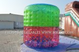 Wasser-gehende Rolle, aufblasbare PVC-Rollen Zorb Kugel, bunte aufblasbare Zorbs Wasser-Rollen, Wellen-Kugel