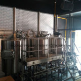 500L chauffage à vapeur ou de gaz de chauffage ou de brasserie de chauffage électrique
