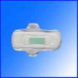 Serviette hygiénique superbe de coton absorbant pour l'usage de dames