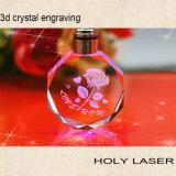 2D/3D de Machine van de Gravure van het Kristal van de laser voor Fijne Giften