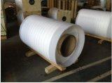 Finition en moulin en aluminium avec PVC bleu / blanc Revêtue
