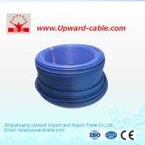 Fil électrique isolé par PVC de cuivre de conducteurs de ménage