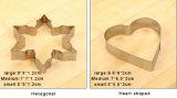 Горячие уникально инструменты прессформы торта нержавеющей стали DIY конструкции Three-Piece