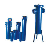 Filter van de Lucht van het Gas van de koolstof de Gealigneerde Corpusculaire Hoge druk Samengeperste (KAF015)