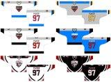 Настраиваемые Онтарио хоккейной лиги веранда Storm 1990-1998 годов дома и дороги Хоккей Джерси