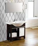 Washbasin шкафа ванной комнаты сертификата Cupc керамический (SN1529-95)