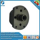 Bonne finition anodisé noir en aluminium de précision partie d'usinage CNC de rechange