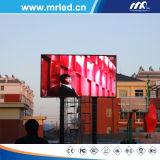 P8mm Die-Casting Cores exteriores da série LED para publicidade em Outdoor