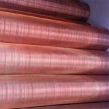 Ячеистая сеть медной декоративной сетки красная сделанная в Китае