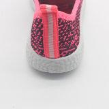 Neue Form weiche bequeme Flyknit Kind-Sport-Schuhe