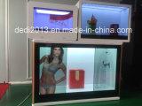49-дюймовый прозрачный киоск с сенсорным экраном LCD реклама