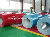 Chapa de acero galvanizada prepintada en bobinas