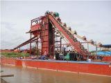 Goldförderung-Bagger der hohen Kapazitäts-ISO9001 für Verkauf