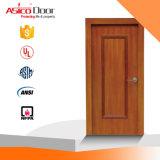 Asico 1/4 hora de resistência a fogo da porta de madeira