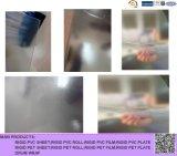 Strato rigido glassato trasparente del PVC per la casella piegante
