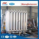 Vaporizador ambiente del gas para el argón del oxígeno del nitrógeno líquido