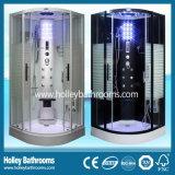 線がある曇らされたガラスのドア(SR117W)が付いている熱い販売のコンピュータ表示蒸気部屋