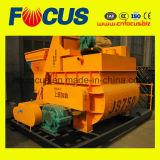 Fully Automatic Js750 Eixos Horizontal Duplo Betoneira forçada
