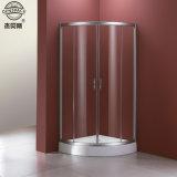6mmの明確な緩和されたガラスのシャワー機構の簡単なシャワーのドア