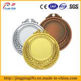第2リボンが付いている亜鉛合金の金属の記念品賞のスポーツメダル
