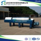 水平ねじ沈積物の排水のための遠心デカンター機械